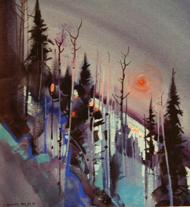 Twilight, Telemark Hill